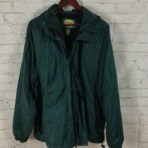 Mens Cabela's Packable Rain Coat and Pants